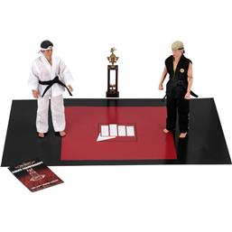 Karate Kid: Karate Kid Retro Action Figure 2-Pack Tournament 20 cm