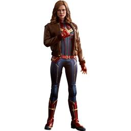 Captain Marvel: Captain Marvel Movie Masterpiece Action Figure 1/6 Captain Marvel Deluxe Ver. 29 cm