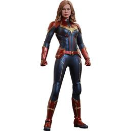 Captain Marvel: Captain Marvel Movie Masterpiece Action Figure 1/6 Captain Marvel 29 cm