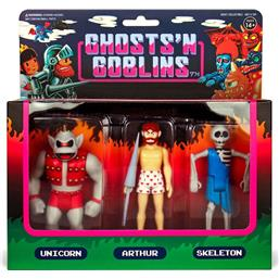 Diverse: Ghosts 'n Goblins ReAction Action Figure 3-Pack B 10 cm