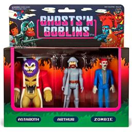 Diverse: Ghosts 'n Goblins ReAction Action Figure 3-Pack A 10 cm