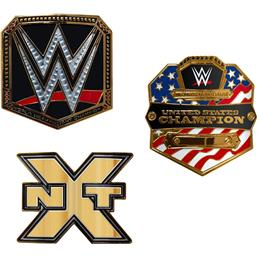 WWE: WWE Championship Belt Buckles Wave 1 3-pack