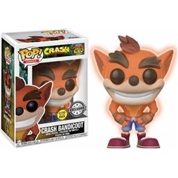 Crash Bandicoot POP! Games Vinyl Figur GITD (#273)