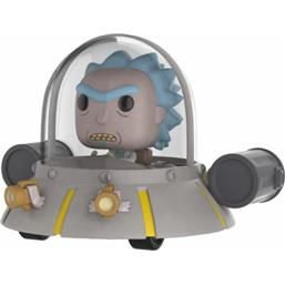 Rick's Ship Space Cruiser POP! Rides Vinyl Figur