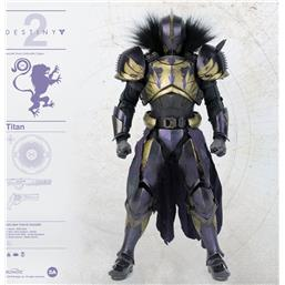 Destiny 2 Action Figure 1/6 Titan Golden Trace Shader 32 cm