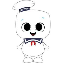 Stay Puft Bamse 18 cm