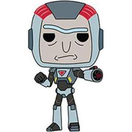 Purge Suit Rick POP! Animation Vinyl Figur