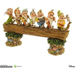 Disney: Disney Showcase Collection Statue Seven Dwarfs Masterpiece (Snow White) 30 cm