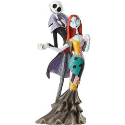 Nightmare Before Christmas: Disney Showcase Collection Statue Jack and Sally Deluxe (Nightmare Before Christmas) 22 cm