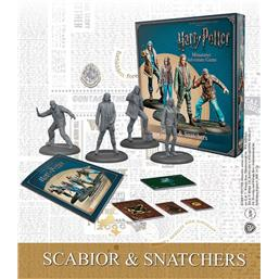 Harry Potter Miniature 35 mm 4-Pack Scabior & Snatchers *English Version*