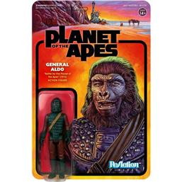 Planet of the Apes: Planet of the Apes ReAction Action Figure General Aldo 10 cm
