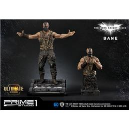 Batman: The Dark Knight Rises Statue & Bust 1/3 Bane Ultimate Edition Set