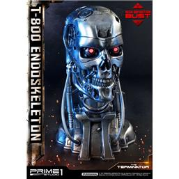 The Terminator High Definition Bust 1/2 T-800 Endoskeleton Head 22 cm