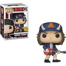 Angus Young POP! Rocks Vinyl Figur (#91) - CHASE