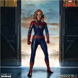 Captain Marvel: Captain Marvel Action Figure One:12