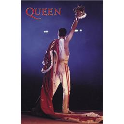 Freddie Mercury Crown Plakat