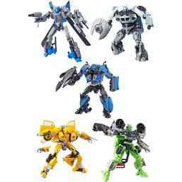 Transformers Studio Series Deluxe Class Action Figures 2018 Wave 4 5-pack