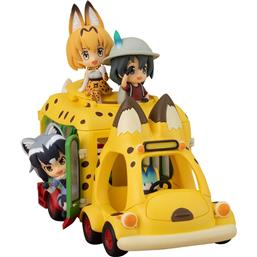 Kemono Friends: Kemono Friends PVC Statue Japari Bus 11 x 5 x 6 cm