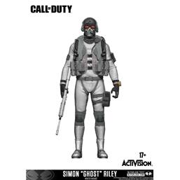 Call of Duty Action Figure Simon 'Ghost' Riley Variant Exclusive incl. DLC 15 cm