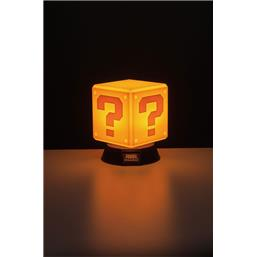 Question Block 3D Lampe 10 cm