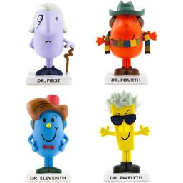 Dr Who, Mr Men & Little Miss by Roger Hargreaves Vinyl Figures 10 cm 4-Pack
