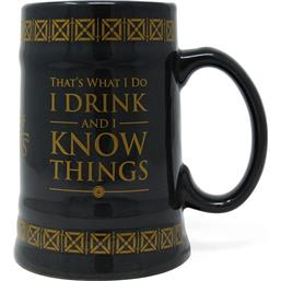 Drink & Know Things Stein