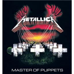 Metallica: Master Of Puppets Framed Canvas 40 x 40 cm