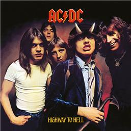 AC/DC: Highway To Hell Framed Canvas 40 x 40 cm