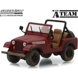 A-Team Diecast Model 1/43 Jeep CJ-7