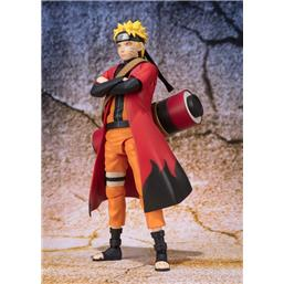 Naruto Shippuden : Naruto S.H. Figuarts Action Figure Naruto Uzumaki Sage Mode Advanced Tamashii Web Exclusive 14 cm
