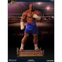 Street Fighter Statue 1/3 Sagat PCS Victory Exclusive 93 cm