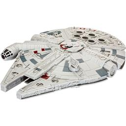 Star Wars Build & Play Model Kit with Sound & Light Up 1/164 Millennium Falcon