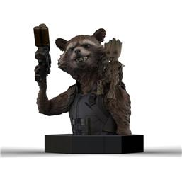 Guardians of the Galaxy Vol. 2 Bust 1/6 Rocket Raccoon & Groot 16 cm