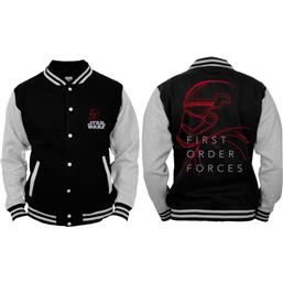 First Order Force Stormtrooper Baseball Varsity Jacket
