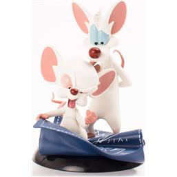 Pinky and the Brain: Pinky and the Brain Q-Fig Figure Taking Over The World 10 cm
