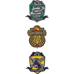 Deluxe Quidditch Hogwarts Patches 3-Pak