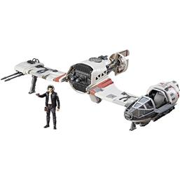Star Wars Episode VIII Force Link Class C Vehicle with Figure 2017 Resistance Ski Speeder
