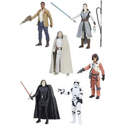 Star Wars Episode VIII Force Link Action Figures 10 cm 2017 5-pack