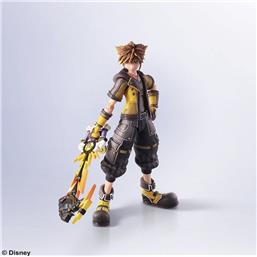 Kingdom Hearts III Bring Arts Action Figure Sora Guardian Form Version 16 cm