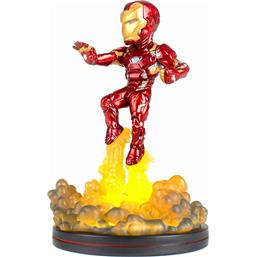 Iron Man: Marvel Comics Light-Up Q-Fig Figure Iron Man 14 cm