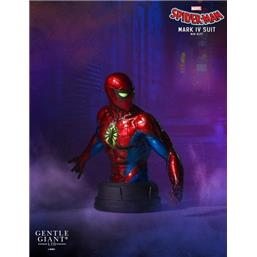 Spider-Man: Marvel Bust 1/6 Spider-Man Mark IV Suit 16 cm