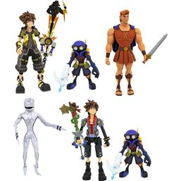 Kingdom Hearts: Select Action Figures 18 cm 3x 2-Packs