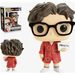 Leonard in Bathrobe POP! TV Vinyl Figur (#778)