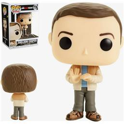 Big Bang Theory: Sheldon POP! TV Vinyl Figur (#776)