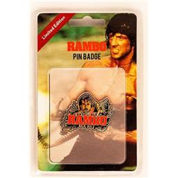 Rambo / First Blood: Rambo Pin Badge