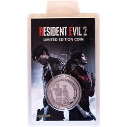 Resident Evil: Leon & Claire Collectable Coin Silver Edition