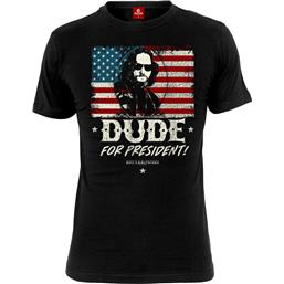 Big Lebowski : Dude for President T-Shirt