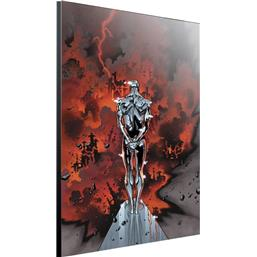 Marvel: Silver Surfer Wooden Wall Art by Olivier Coipel 24 x 36,5 cm