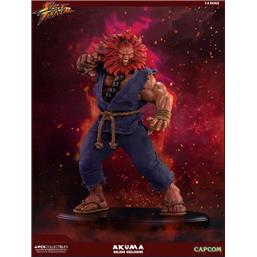 Street Fighter: Street Fighter Mixed Media Statue 1/4 Akuma Deluxe Exclusive 45 cm