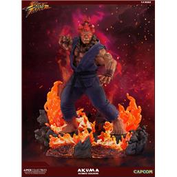 Street Fighter: Street Fighter Mixed Media Statue 1/4 Akuma Ultimate Exclusive 58 cm